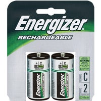 Energizer Recharge C Rechargeable Battery, NH35BP2(R2)