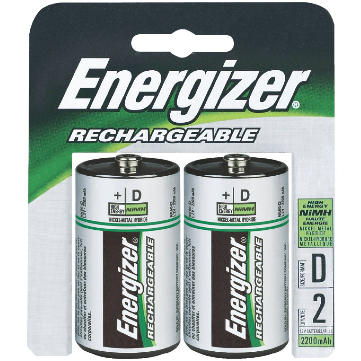 2CD D RECHARGE BATTERY - NH50BP2(R2) by Energizer