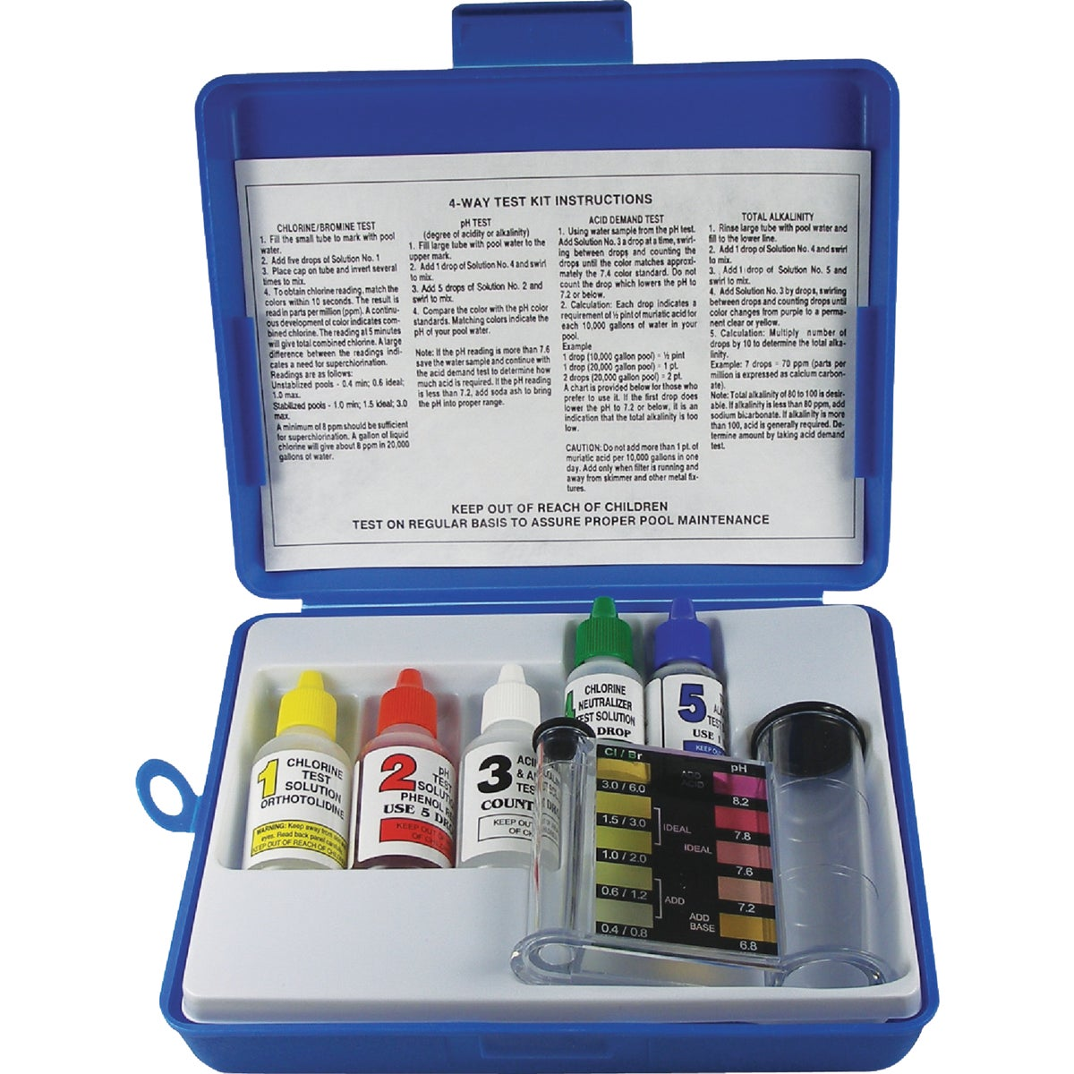 4-WAY TEST KIT - 00-486 by Jed Pool