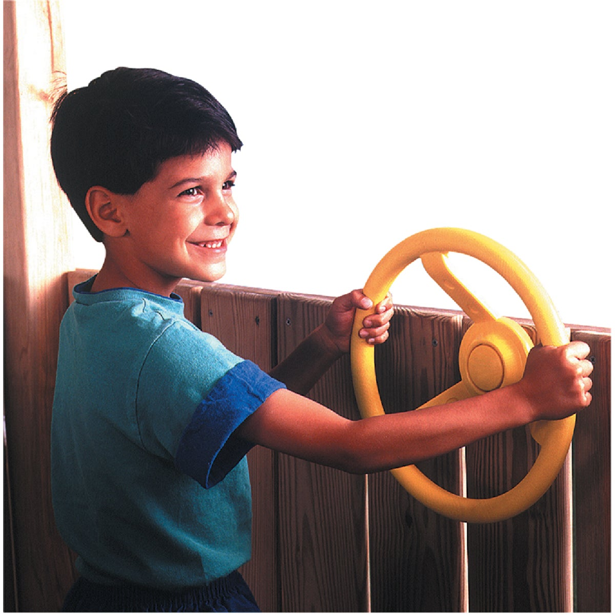 YELLOW STEERING WHEEL - NE4412 by Swing N Slide Corp