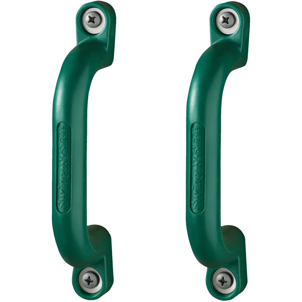 2PK GREEN SAFETY HANDLE - NE4410 by Swing N Slide Corp