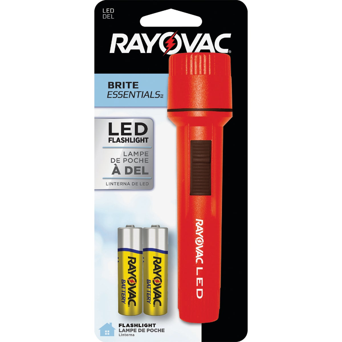 2AA VALUE FLASHLIGHT - EVB2AA-BB by Ray O Vac