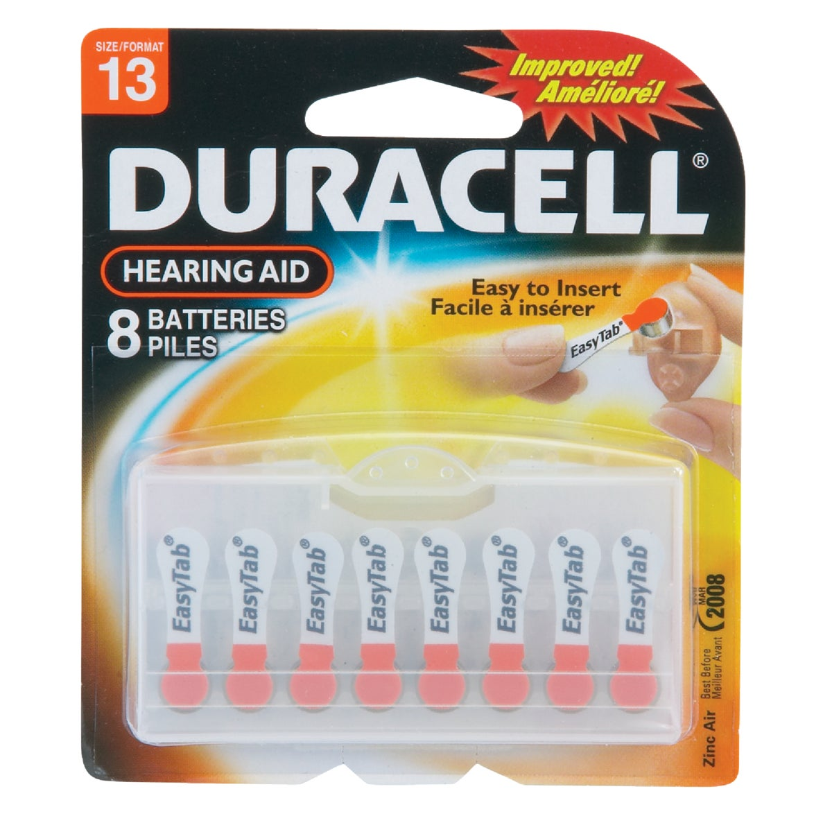 DA13 1.4V HR AID BATTERY - 74087 by P & G  Duracell