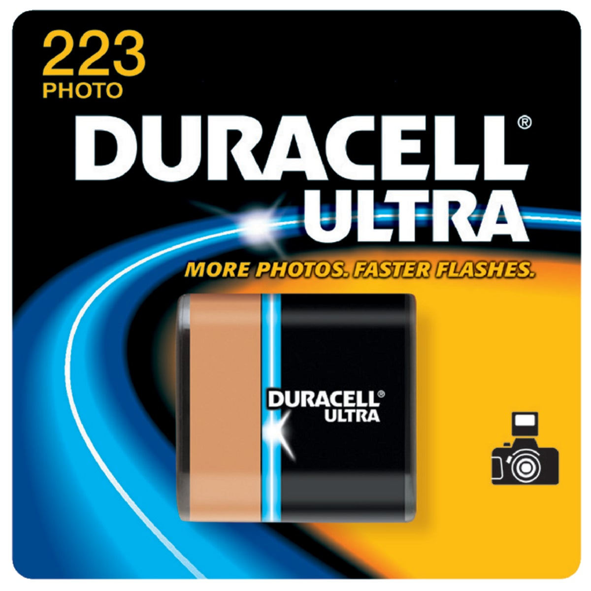 DL223 6V CAMERA BATTERY - 27387 by P & G  Duracell