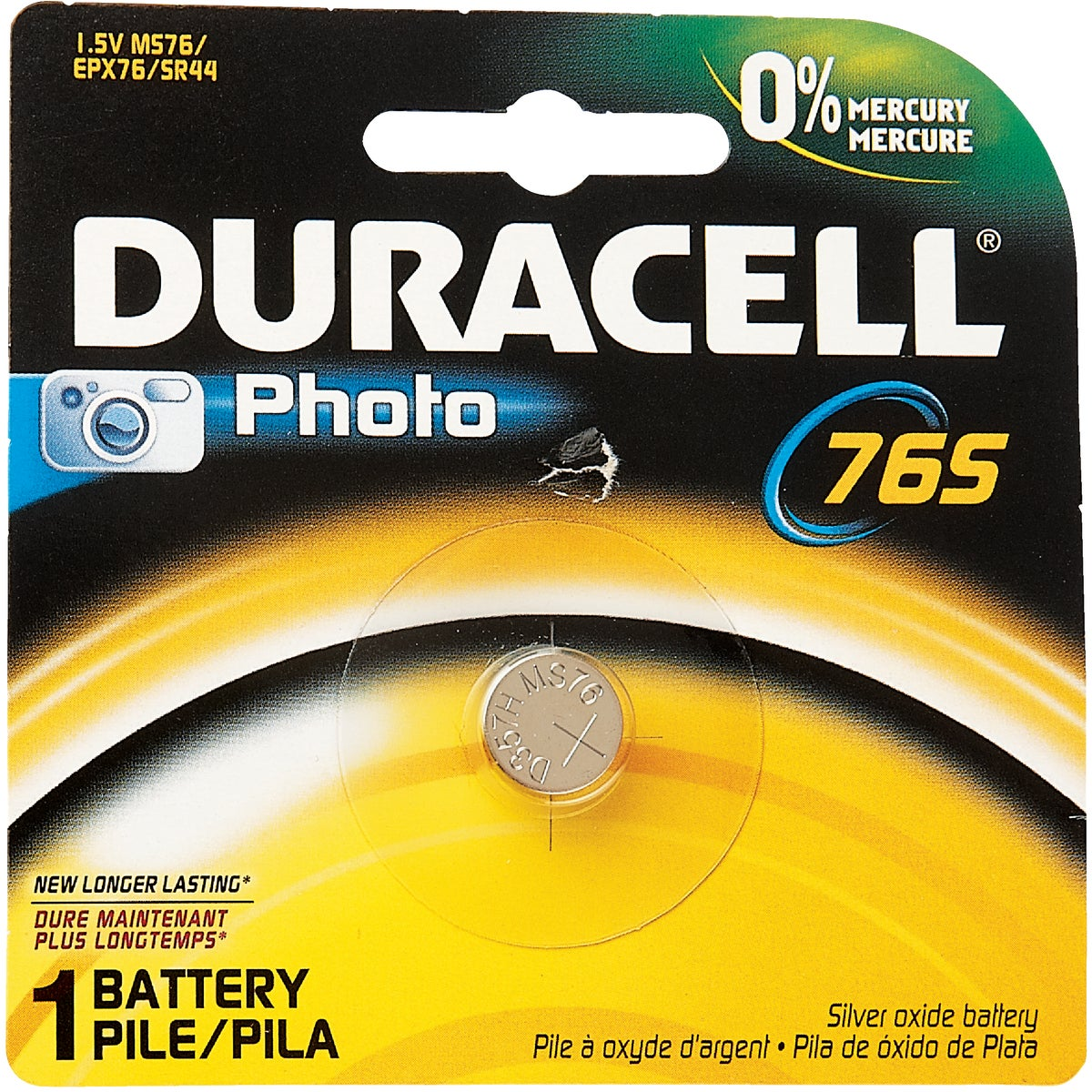 MS76 1.5V PHOTO BATTERY - 29387 by P & G  Duracell