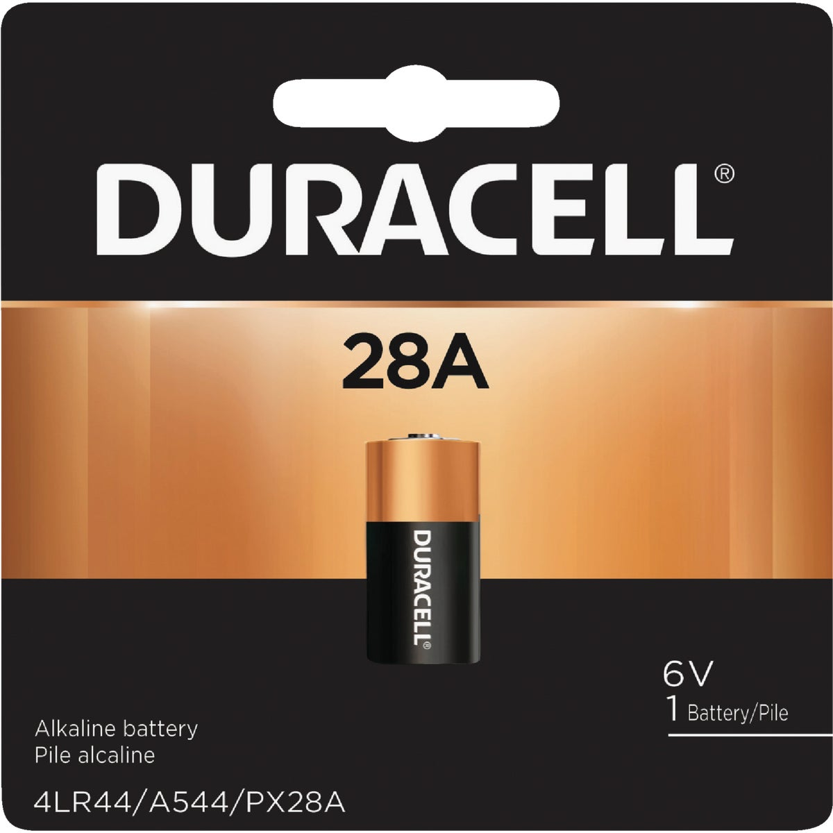PX28A 6V MED BATTERY - 44687 by P & G  Duracell