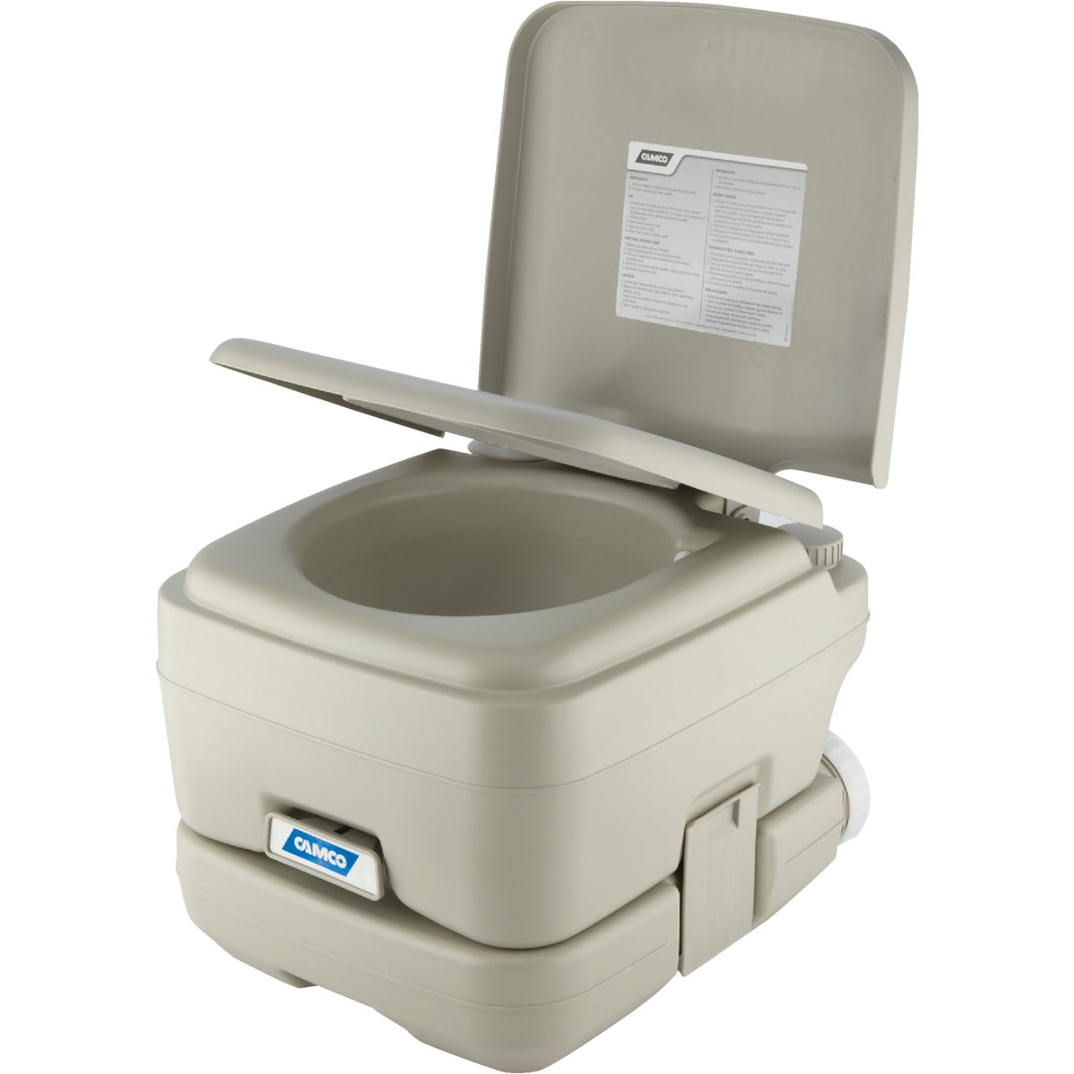 2.6GAL PORTABLE TOILET - 41531 by Camco Mfg.