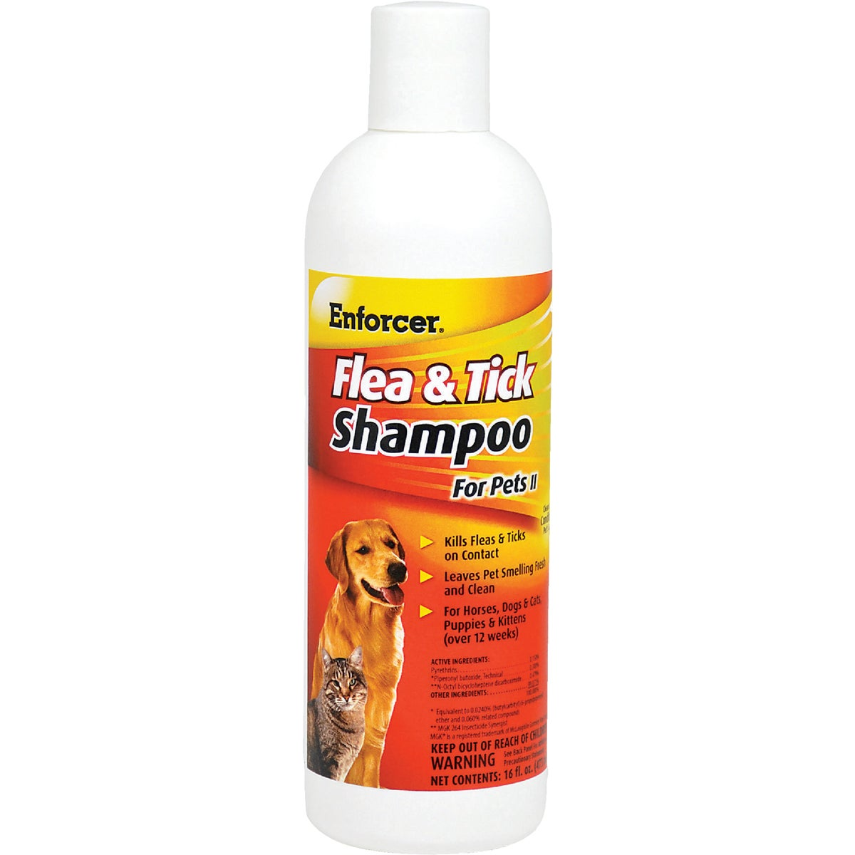 FLEA/TICK PET SHAMPOO - EPS16 by Zep Enforcer Inc