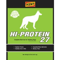 Kent Feeds 20LB HI-PRO 27 DOG FOOD 7861