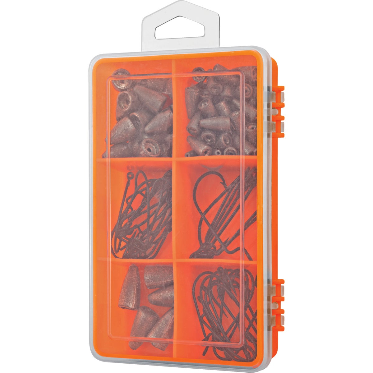 105PC WORM HOOK & SINKER