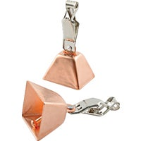 South Bend Sporting Goods 2PK SQUARE COPPER BELLS 2-SB