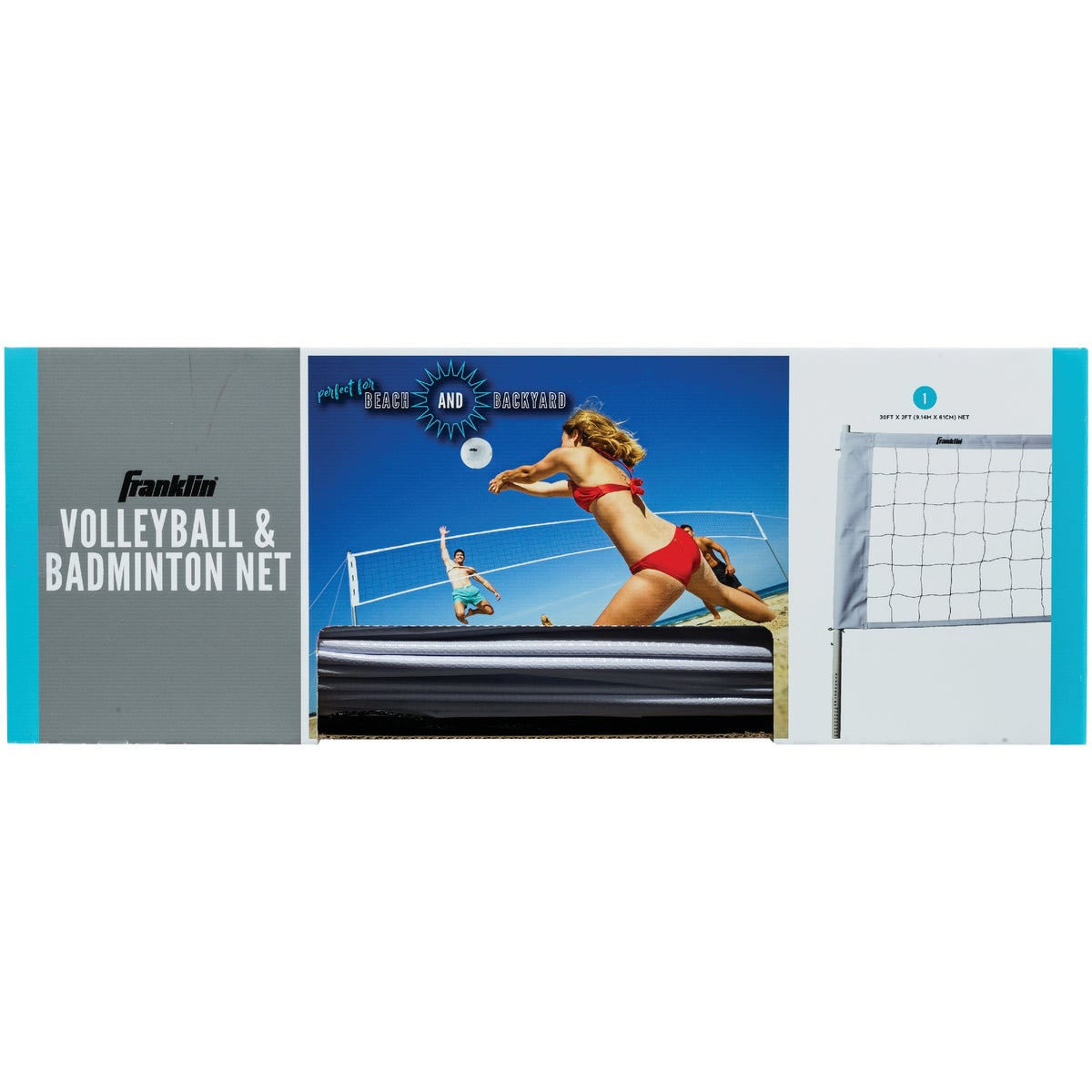 VOLLEYBALL NET - 52620 by Franklin Sports