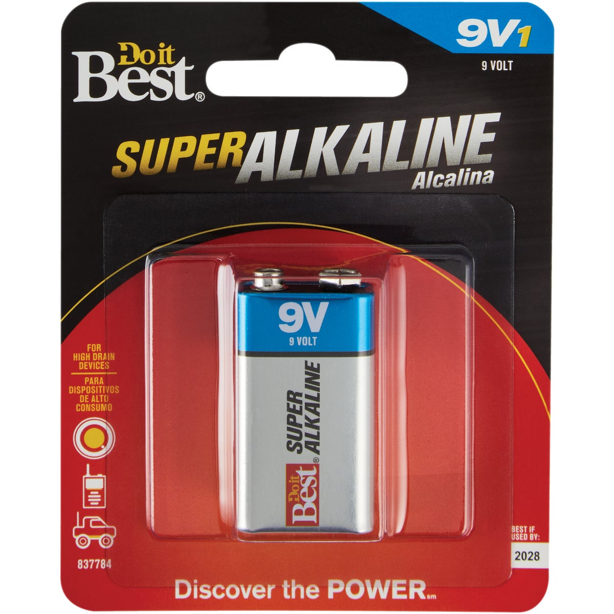 1PK DIB 9V BATTERY - DIBA1604-1 by Ray O Vac