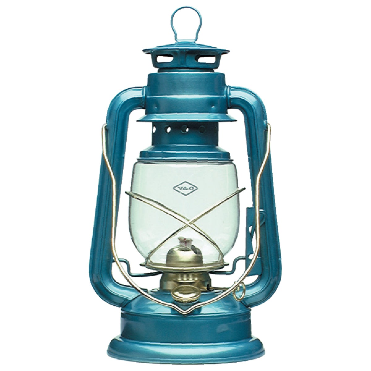 "BLUE 12"" CAMPER LANTERN - 210-32060 by 21st Century Inc"