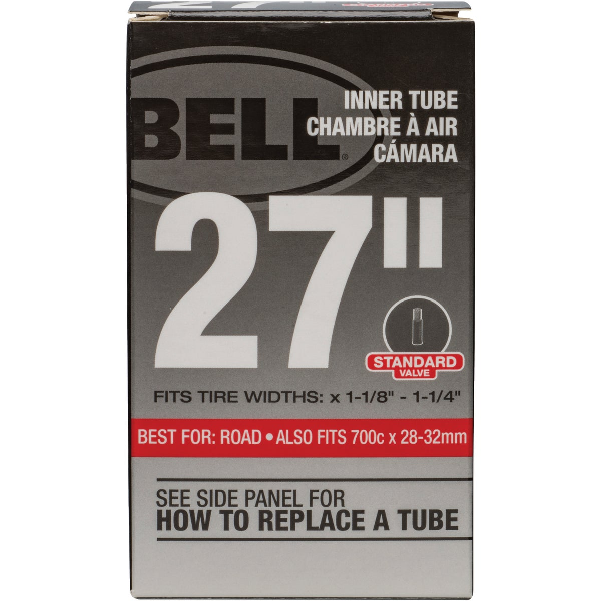 "27"" UNIVERSAL INNER TUBE - 7015462 by Bell Sports"