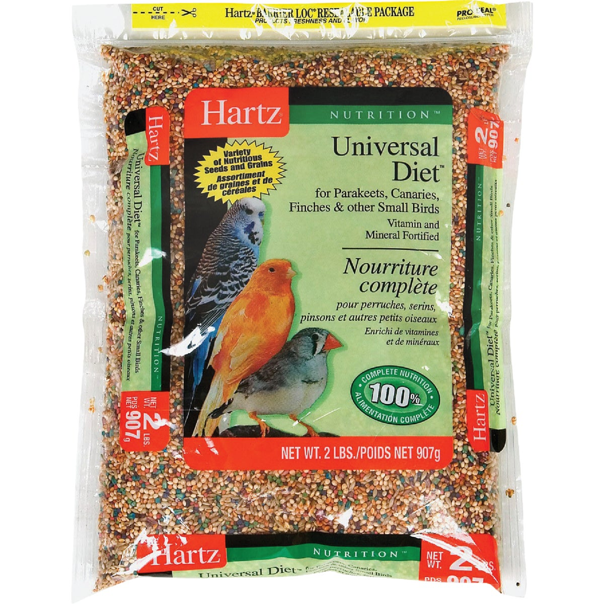 2LB SMALL BIRD FOOD - 3270097754 by Hartz Mountain Corp