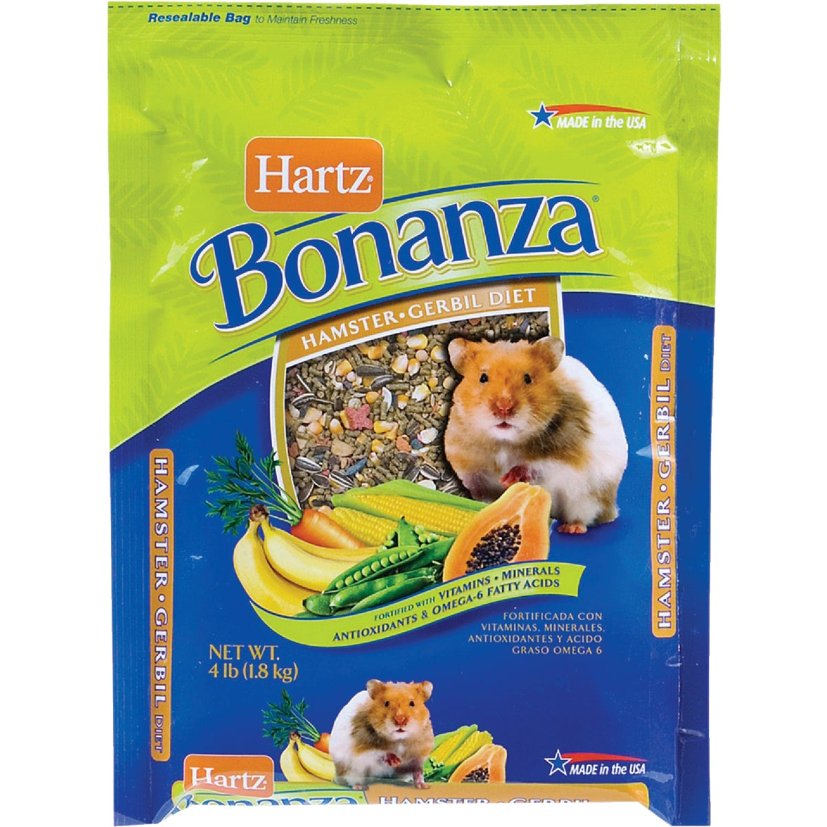 4LB HAMSTER&GERBIL FOOD - 3270097617 by Hartz Mountain Corp