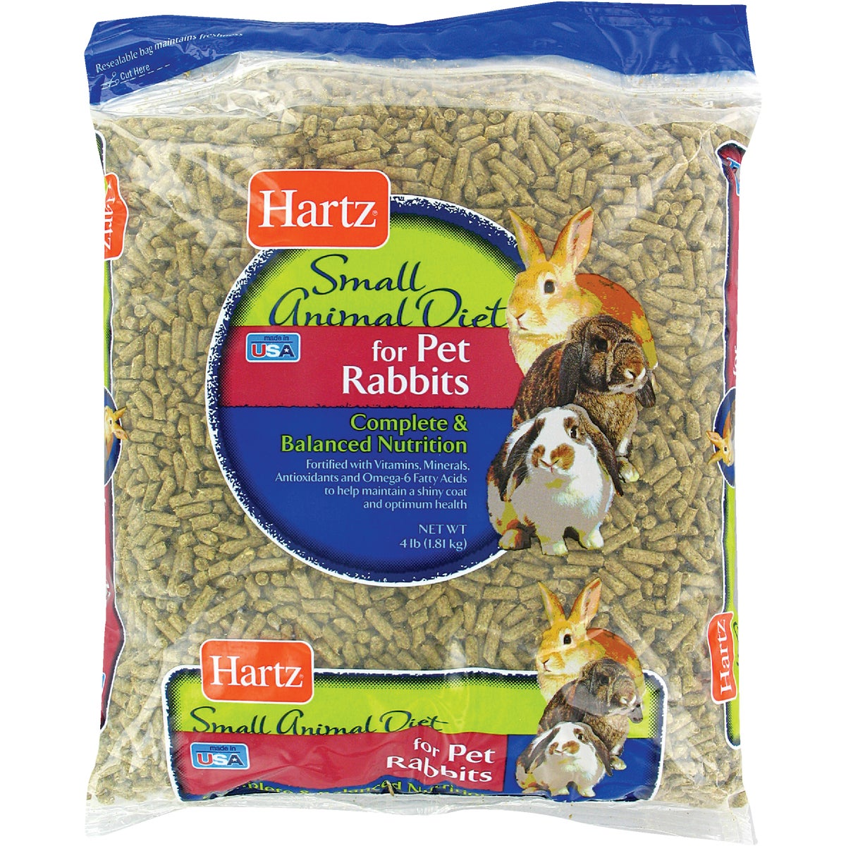 4LB RABBIT FOOD - 3270012501 by Hartz Mountain Corp