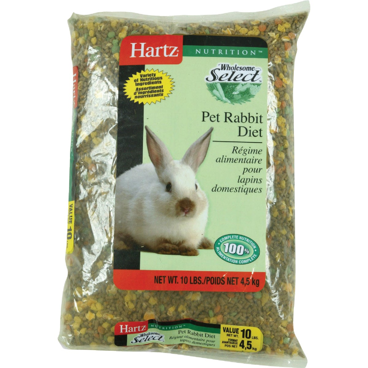 10LB RABBIT FOOD - 3270098079 by Hartz Mountain Corp
