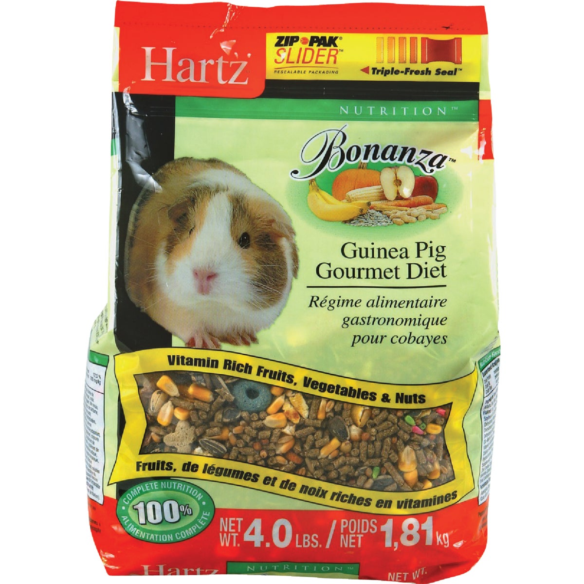 4LB GUINEA PIG FOOD - 3270097614 by Hartz Mountain Corp