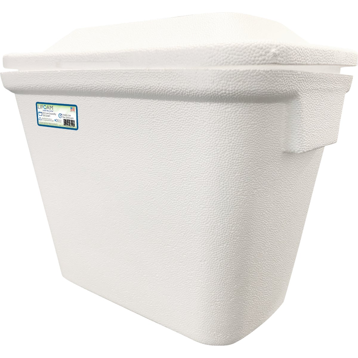 30QT FOAM COOLER