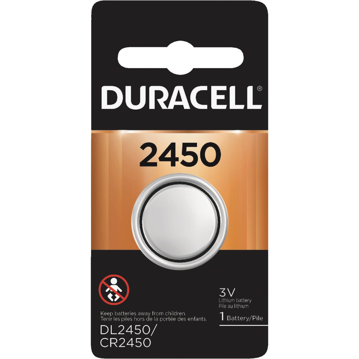 DL2450 3V MED BATTERY