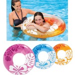 Clear Color Tube Pool Float
