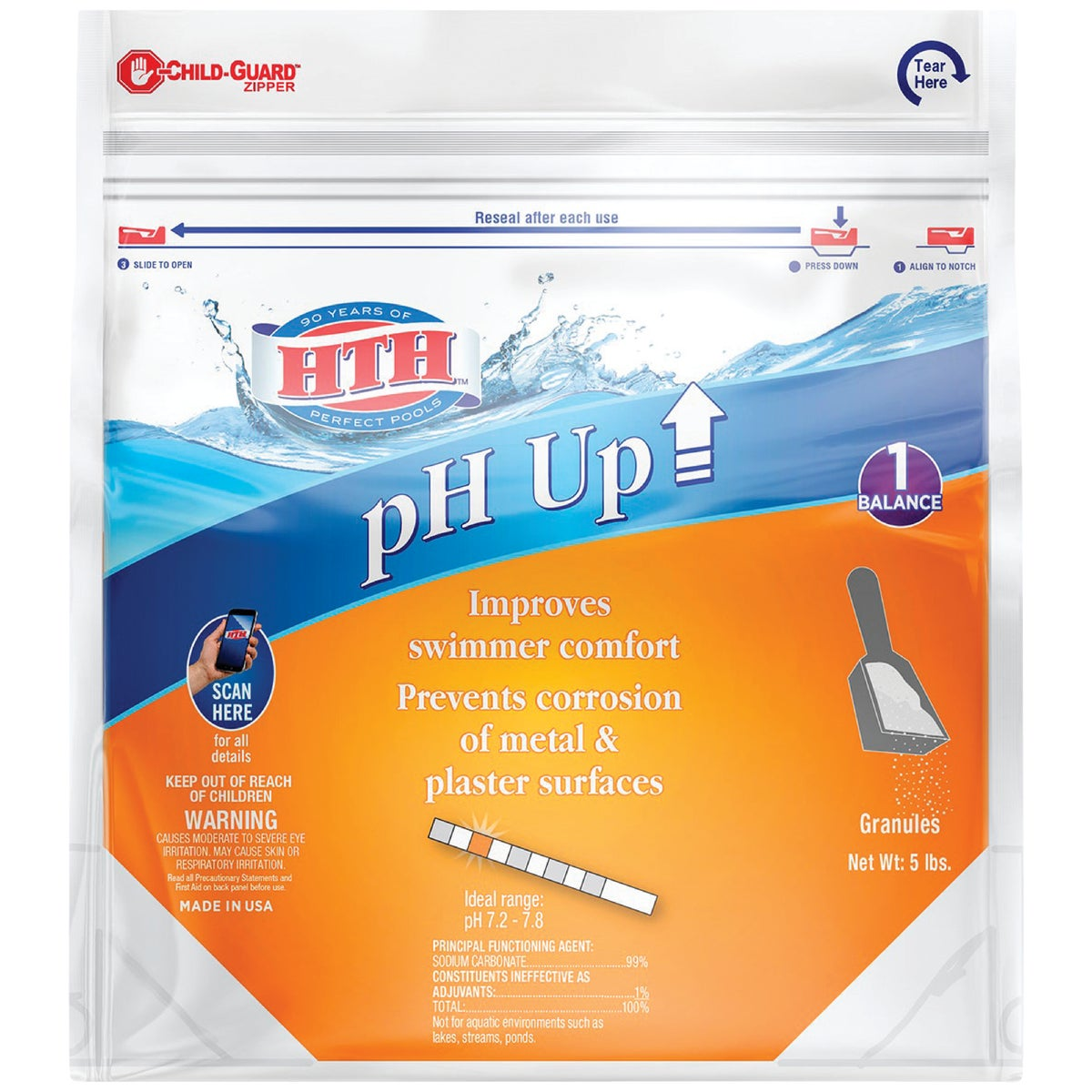 5LB HTH PH PLUS ADJUSTER