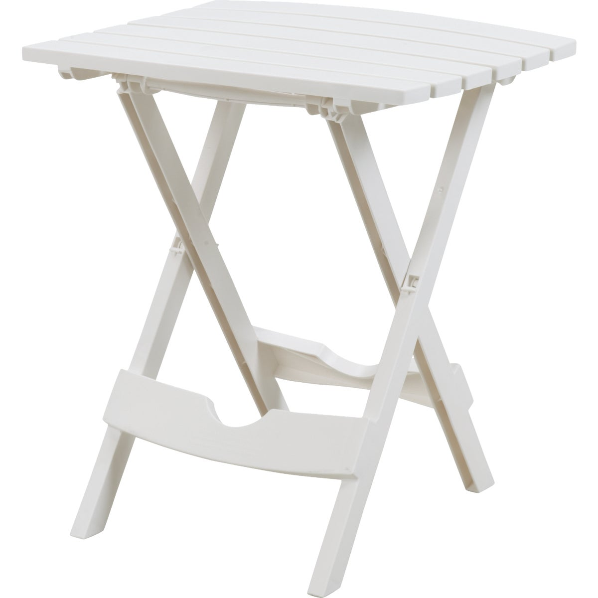 WHITE QUIK FOLD TABLE - 8500-48-3731 by Adams Mfg Patio Furn