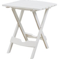 Adams Mfg./Patio Furn. WHITE QUIK-FOLD TABLE 8500-48-3731