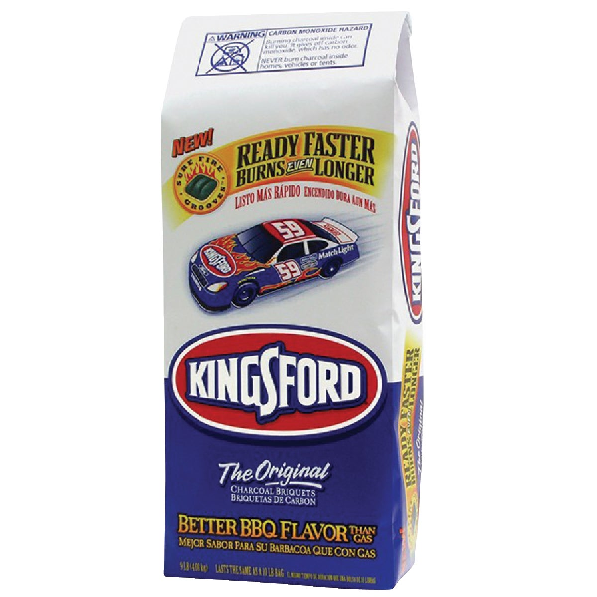 8.3LB KINGSFORD CHARCOAL - 30498 by Clorox/ Kingsford