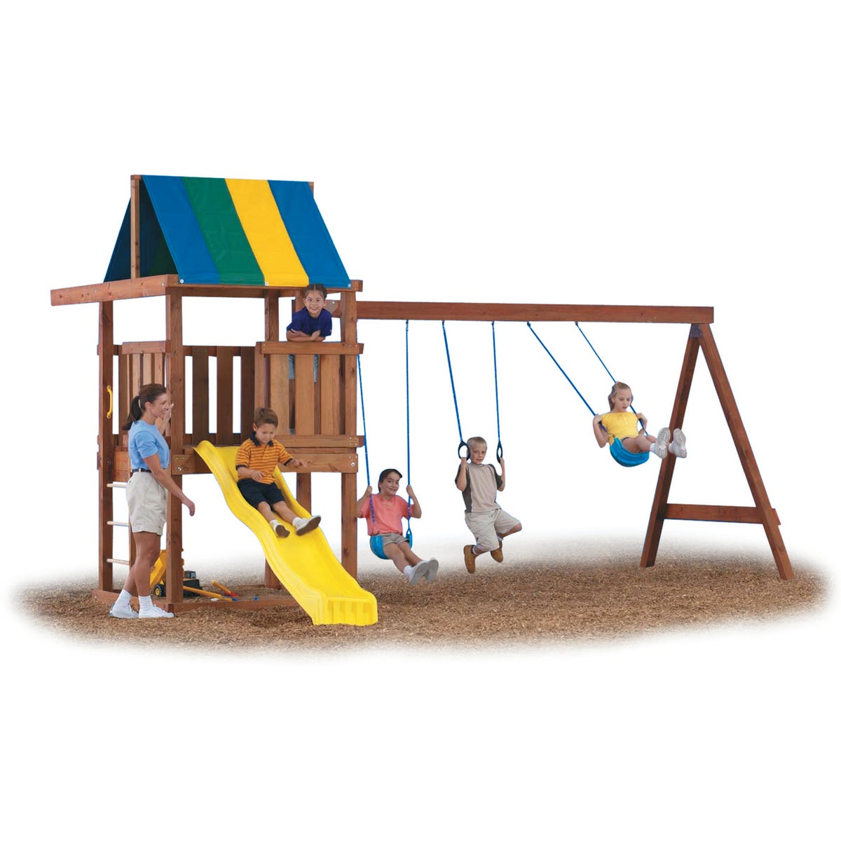 WRANGLER PLAYGROUND KIT - NE5056 by Swing N Slide Corp