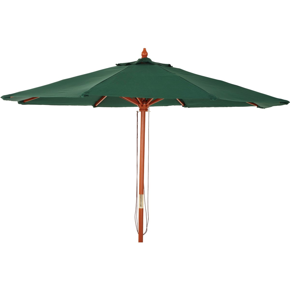 9' MARKET GREEN UMBRELLA