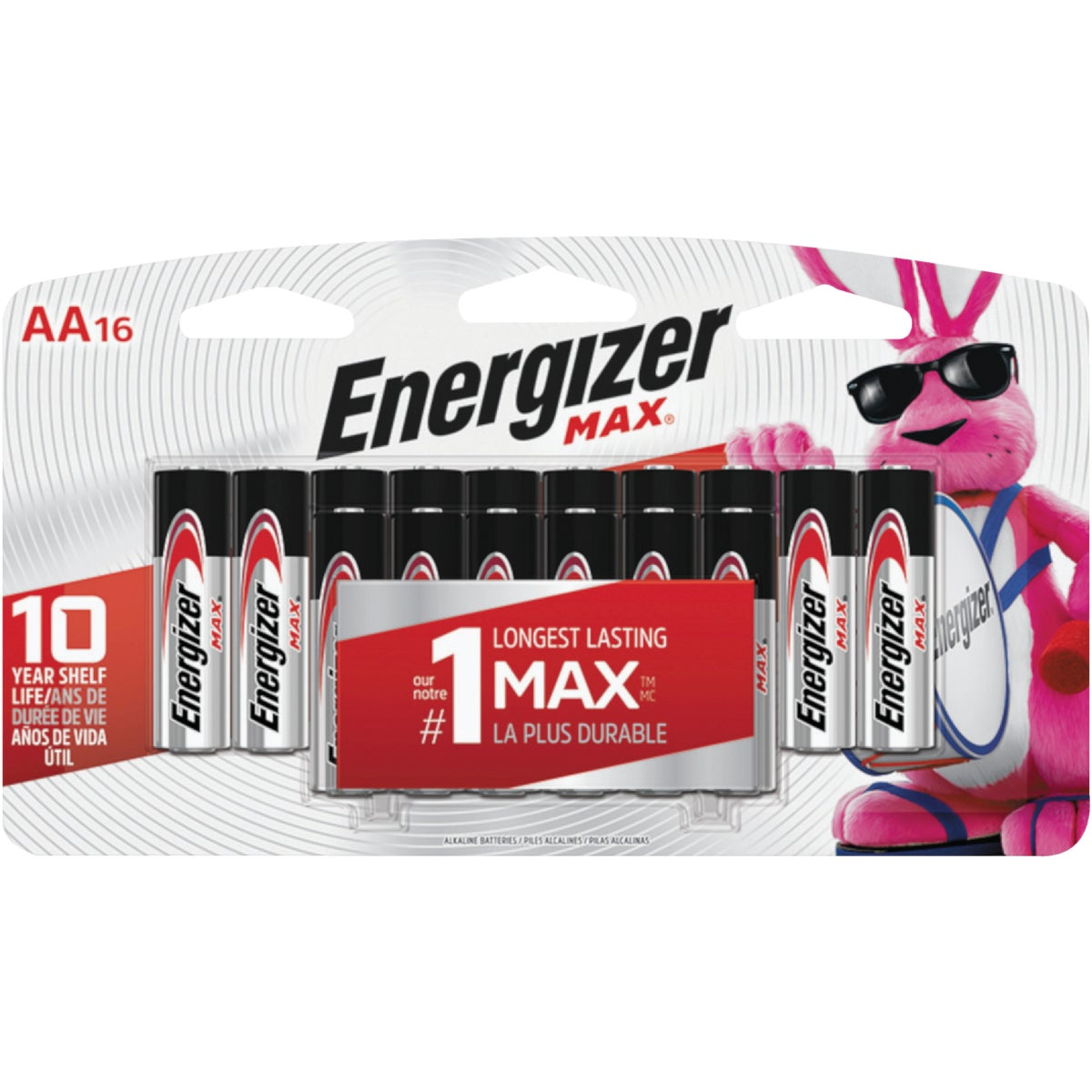 16PK AA ALKALINE BATTERY - E91LP-16 by Energizer