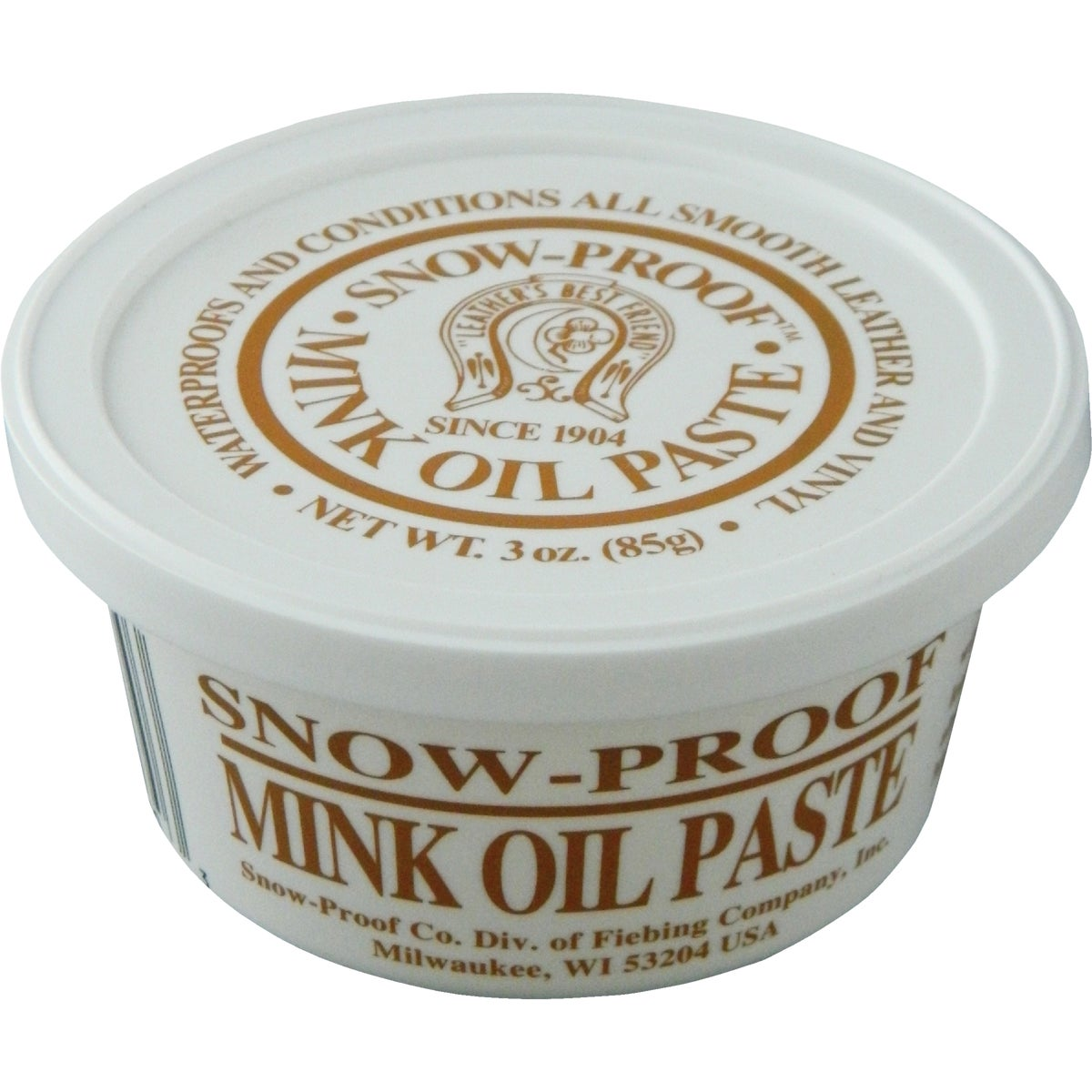 3OZ SNOW PROOF MINK OIL - SNMO00P003Z by Fiebing