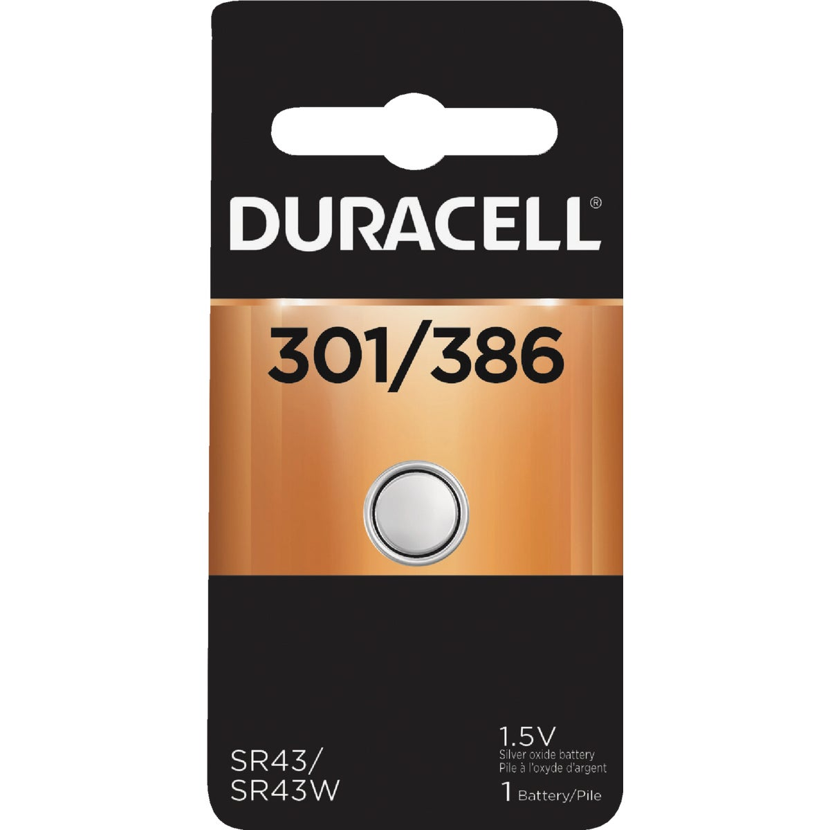 D301/386 1.5V WA BATTERY - 39887 by P & G  Duracell