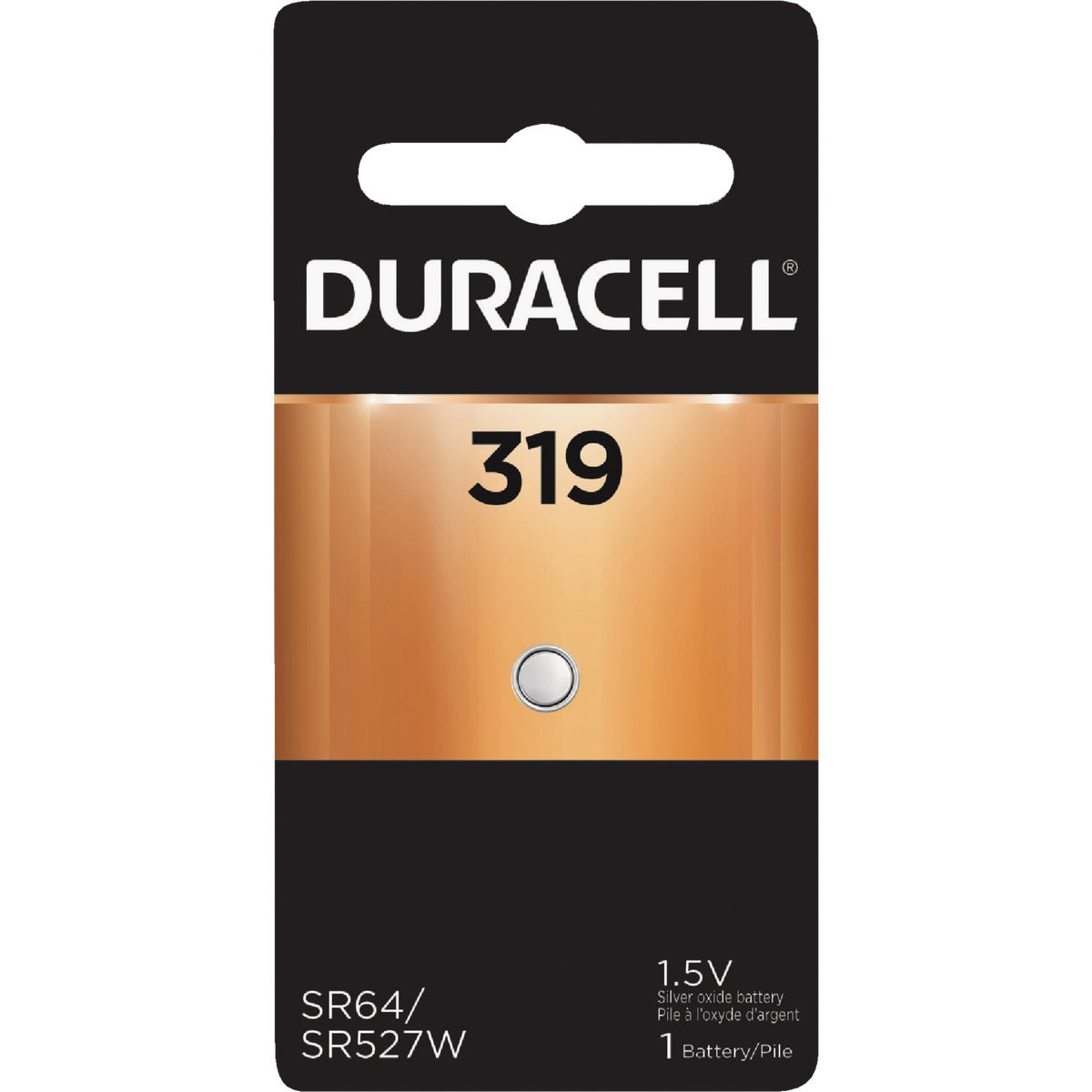 D319 1.5V WATCH BATTERY - 40687 by P & G  Duracell