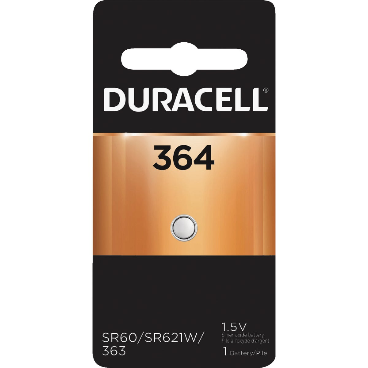 D364 1.5V WATCH BATTERY - 41087 by P & G  Duracell
