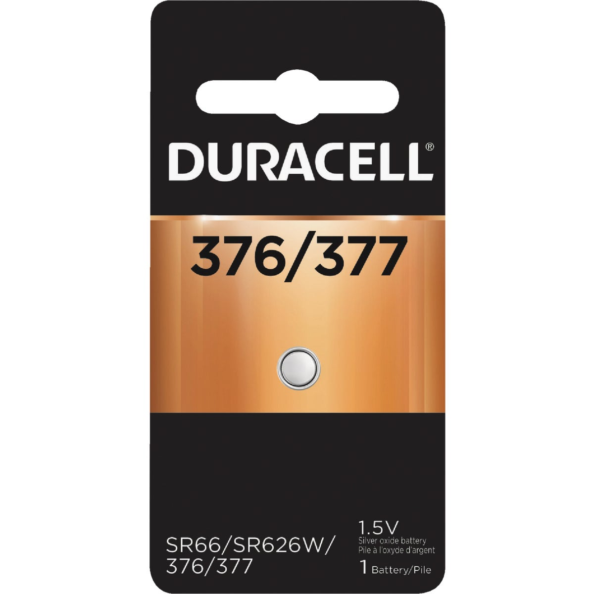 D377 1.5V WATCH BATTERY - 41687 by P & G  Duracell