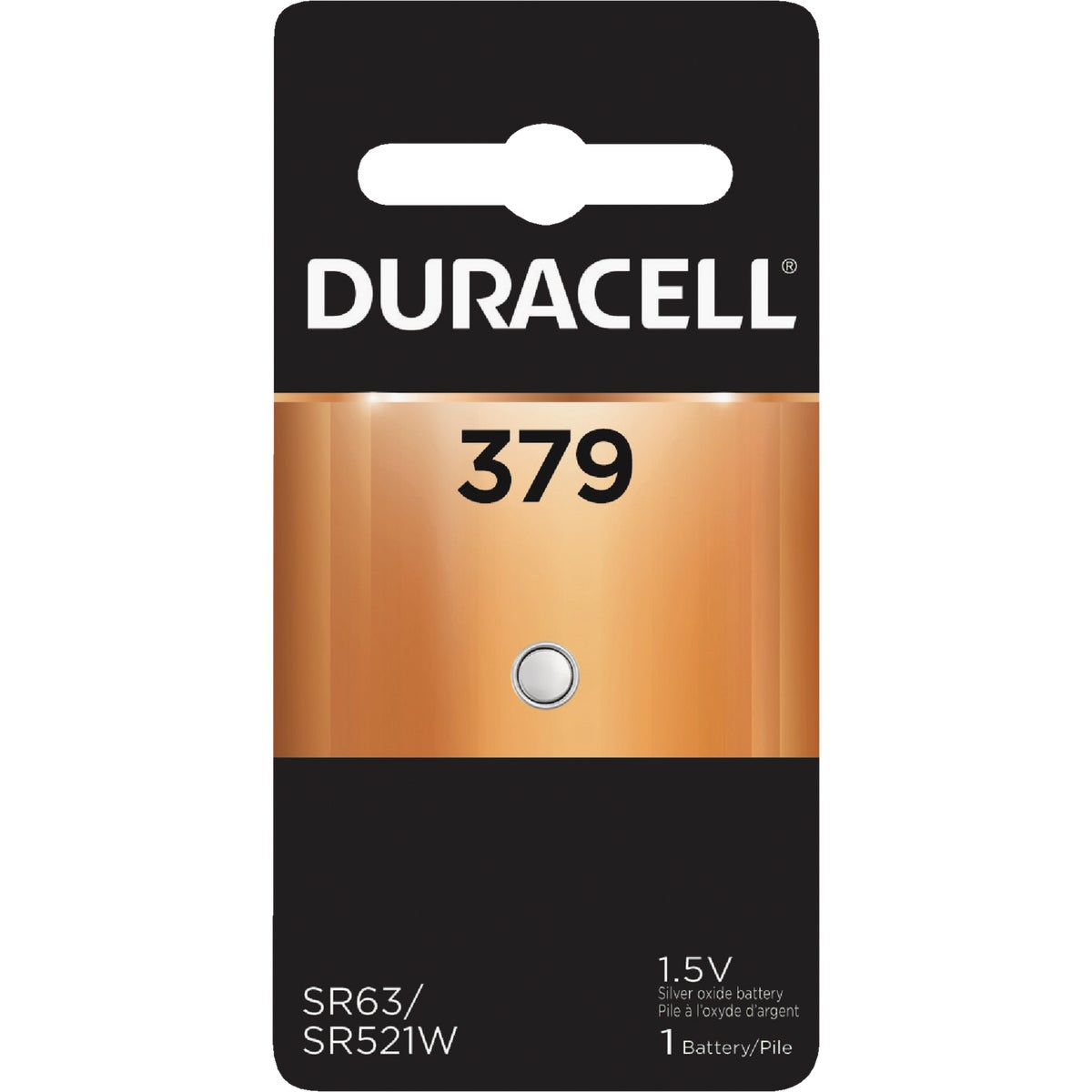 D379 1.5V WATCH BATTERY - 41887 by P & G  Duracell