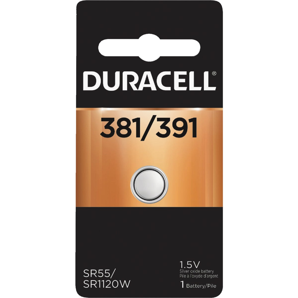 D381/391 1.5V WA BATTERY - 42087 by P & G  Duracell