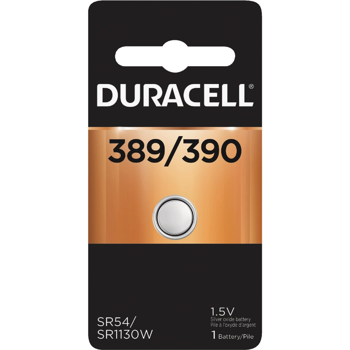 66141 1.5V WATCH BATTERY - 66141 by P & G  Duracell