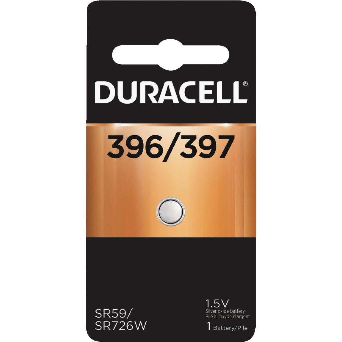 66143 1.5V WATCH BATTERY - 66143 by P & G  Duracell