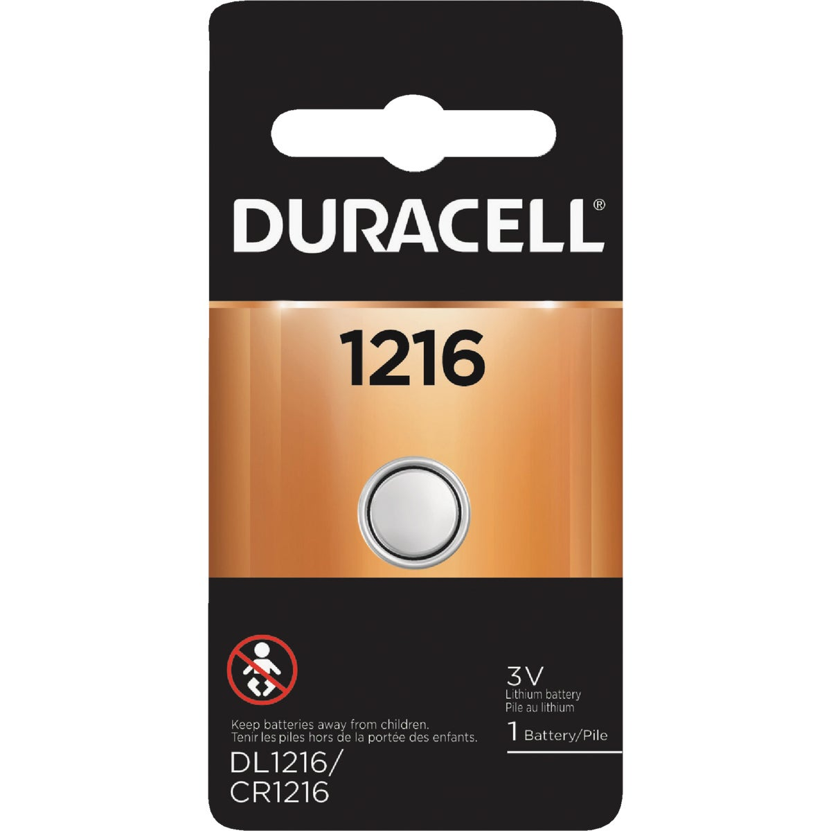DL1216 3V WATCH BATTERY - 43287 by P & G  Duracell