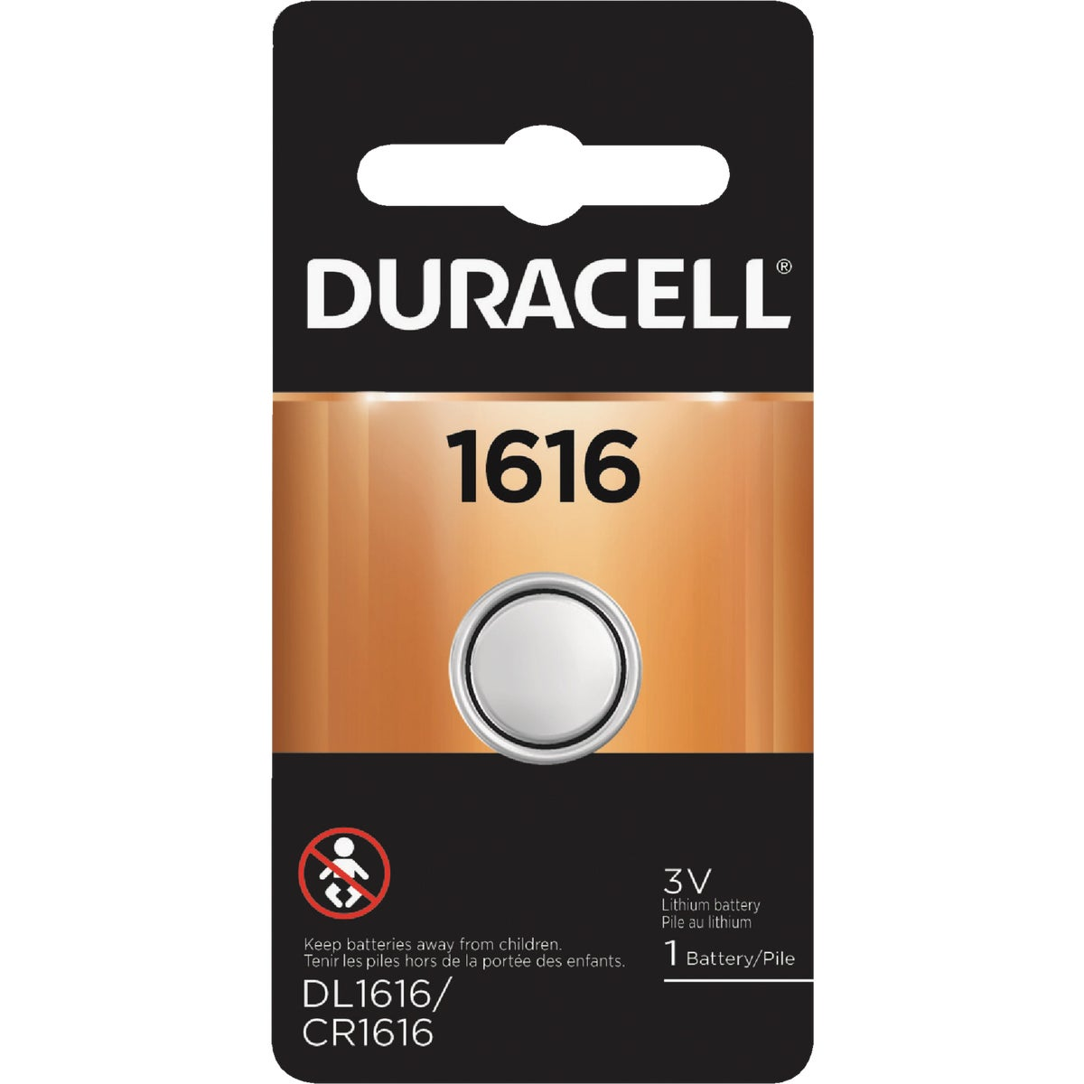 DL1616 3V SECUR BATTERY - 43487 by P & G  Duracell