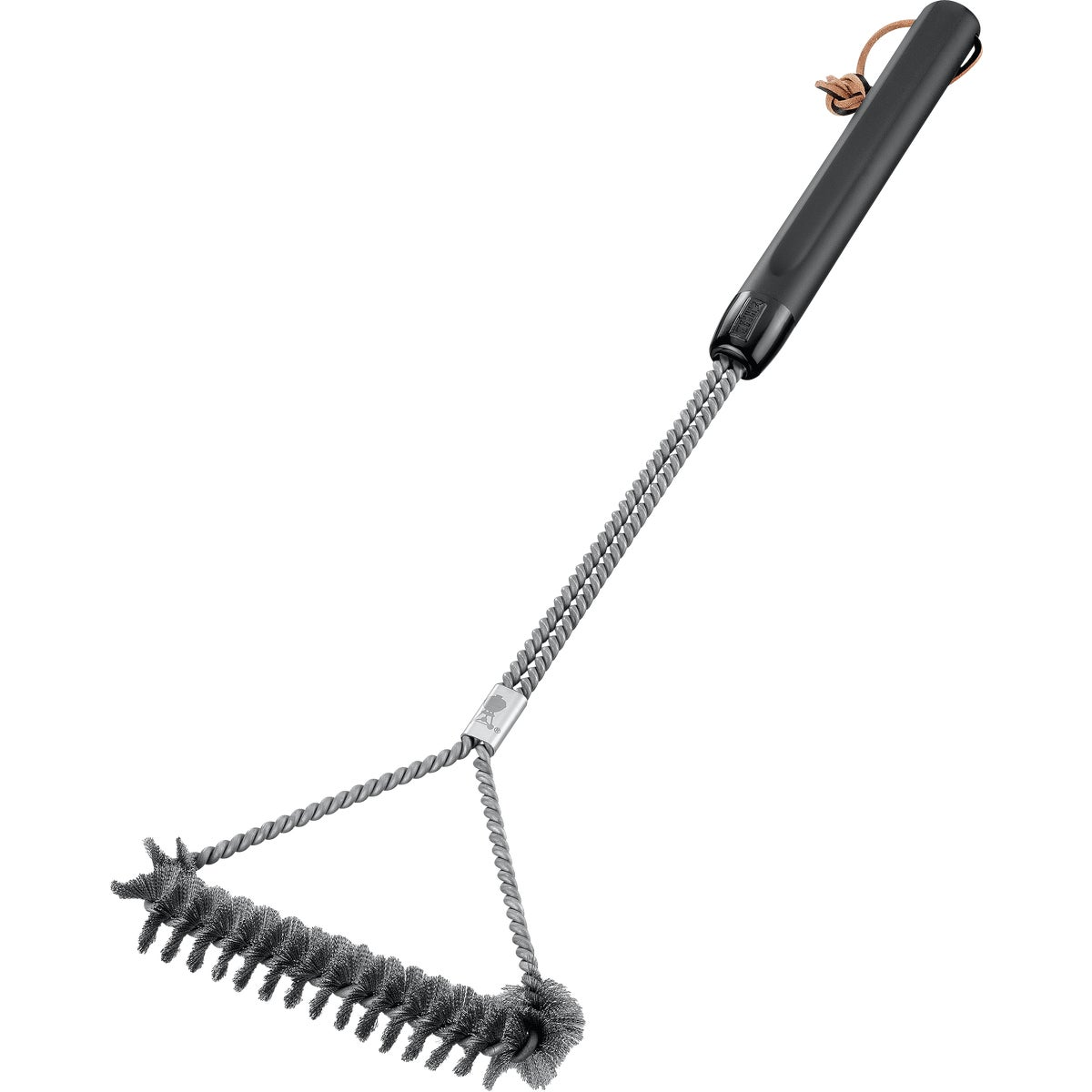 "21"" 3-SIDED GRILL BRUSH - 6493 by Weber"