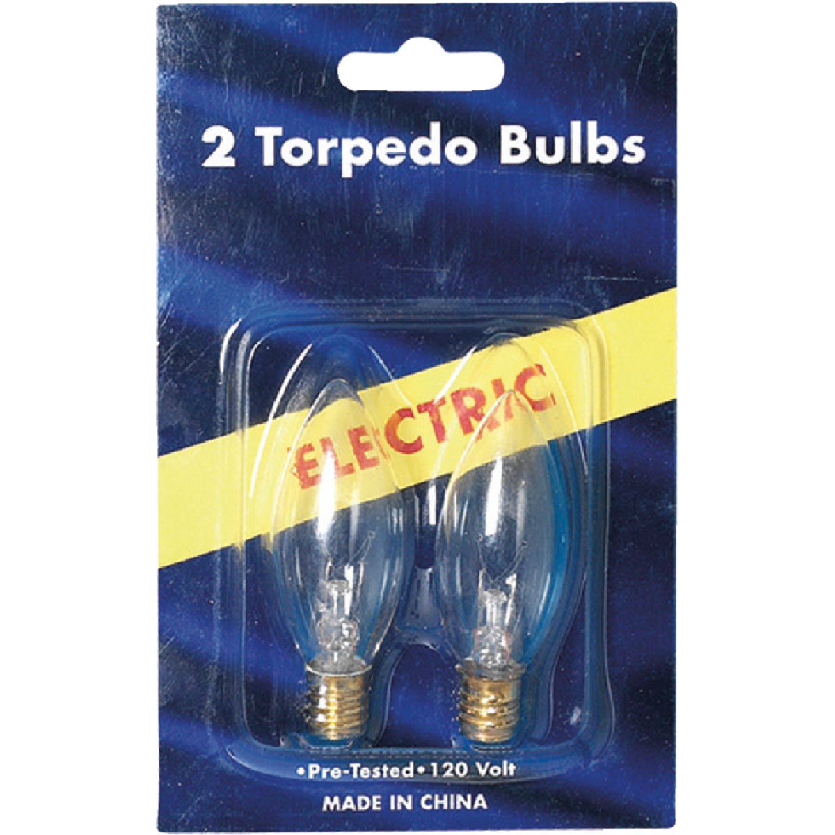 2PK ELECTRIC CANDLE BULB - 1406-2 by J Hofert