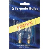 Gerson/Domestic 2PK ELECTRIC CANDLE BULB 654280