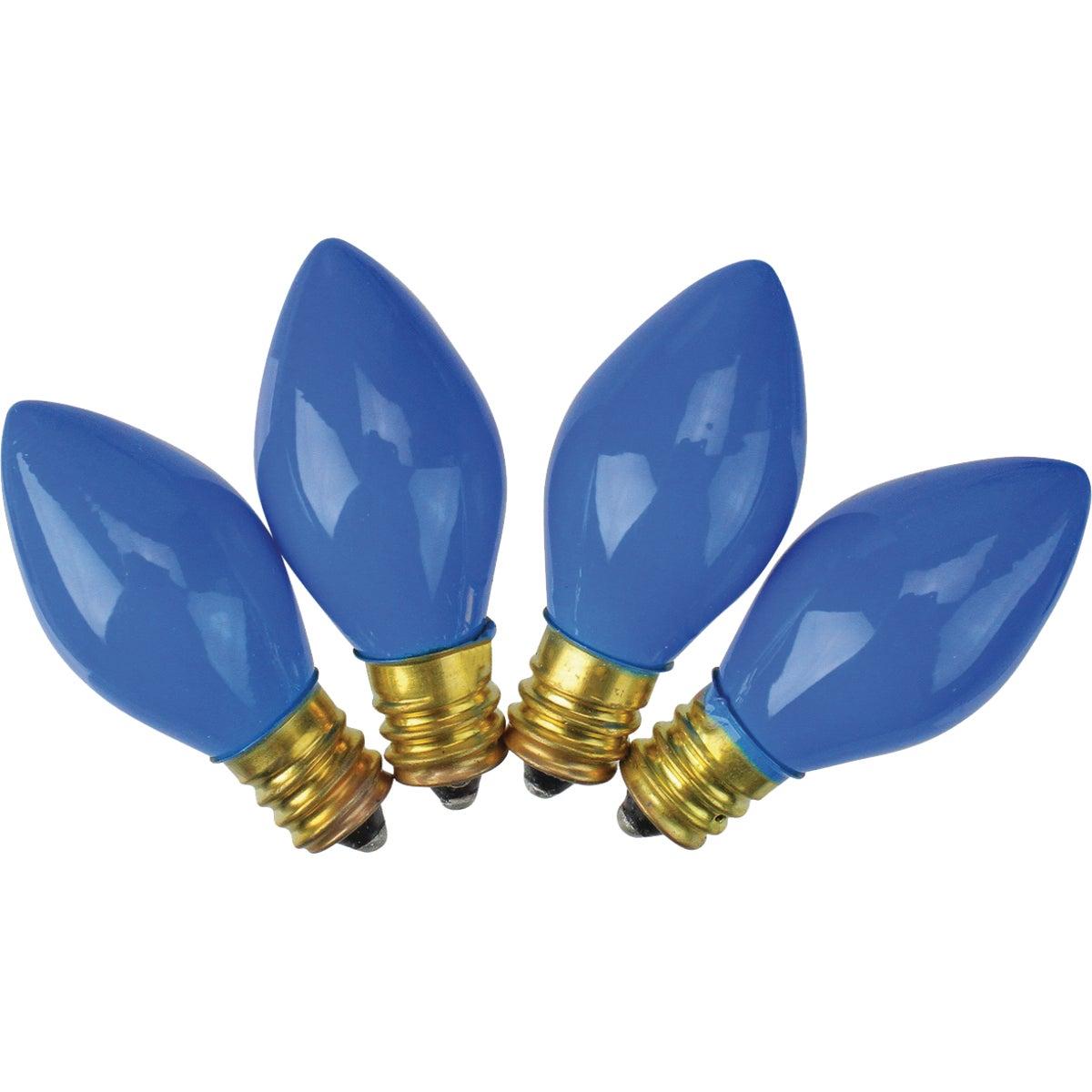 4PK C7 BLUE CERAM BULB - 1414-04 by J Hofert    P