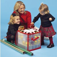 Dyno Zip-Up Ornament Storage Cube, 78001-1